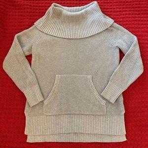 NWT Michael Kors Cowl Neck Grey Sweater